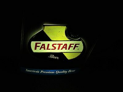 FALSTAFF beer large 1950's LIGHTED WALL SIGN  St. louis Missouri