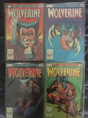 Wolverine Limited Series 1-4