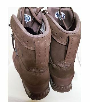 British Army Haix Desert COMBAT HIGH LIABILITY BROWN Boots UK Size 8 wide M
