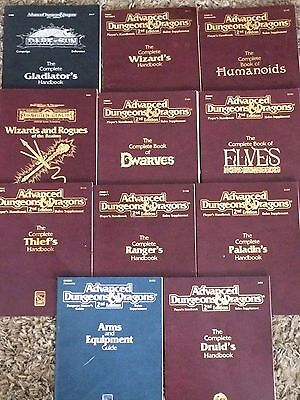 Dungeons & Dragons Complete Handbook Lot