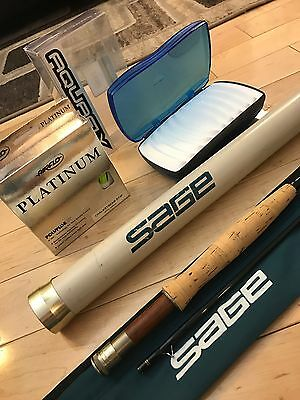 **BEAUTIFUL** SAGE SP 9' 4wt 2 Piece Fly Rod!! LQQK