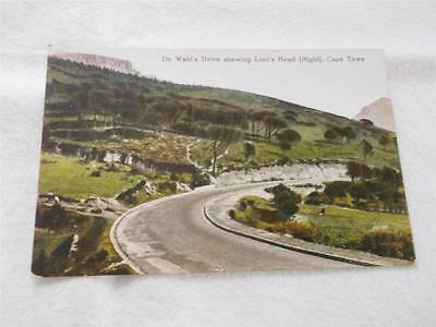Old South Africa Postcard Wahl's Drive Cape Town    Rs