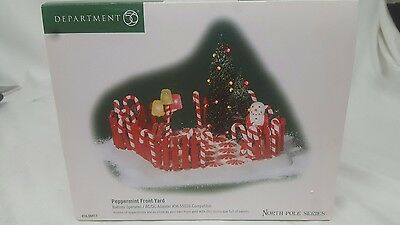 Department 56 Peppermint Front Yard North Pole Series