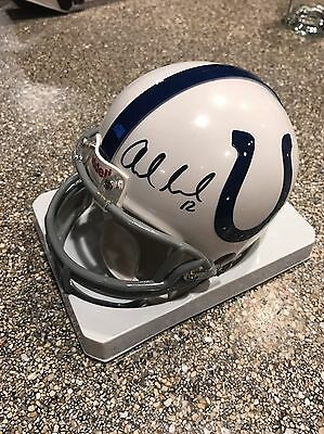 Andrew Luck Autographed Indianapolis Colts Mini Helmet