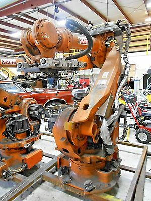 USED 2011 Nachi Robot ST133F-01 with controller and ABB Fanuc Motoman
