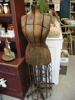 Antique Hall Borchert Cage Base Dress Form LOCAL PICKUP ONLY