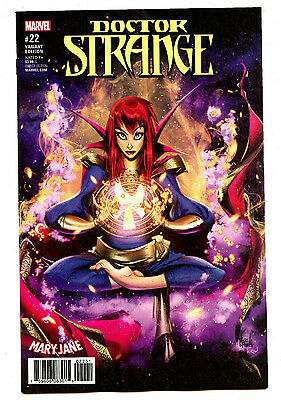 Doctor Strange #22 (2017) Marvel NM/NM- Mary Jane Variant