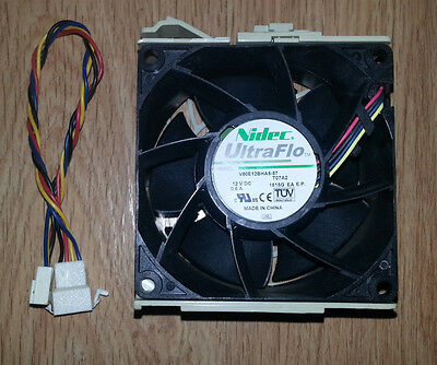 SuperMicro FAN-0126L4 - Nidec UltraFlo V80E12BHA557 MIDDLE-MOUNT FAN 80x80x38mm