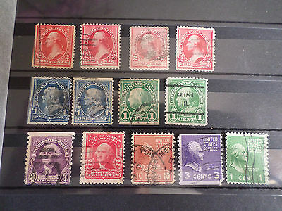 lot  timbres  usa