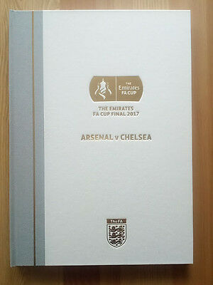 Fa Cup Final 2017 - Limited Edition Hardback Programme - Collectors Item