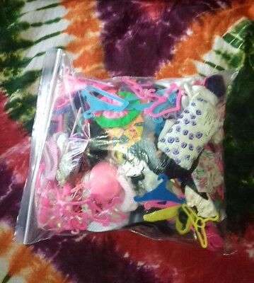 Bundle of Fashion Doll Accessories