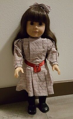 Pleasant Company 1997 Historical Samantha American Girl doll in Meet outfit