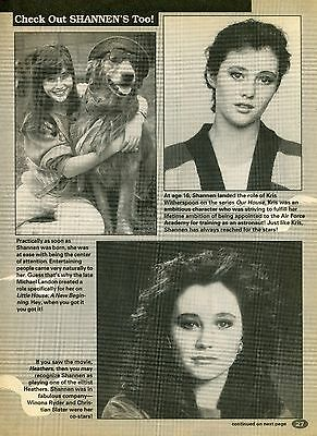 Shannen Doherty Clipping 90210