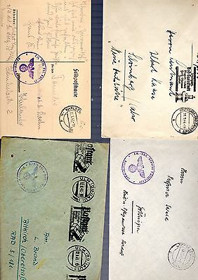 Germany WW2 feldpost covers and cards 1939-1944 lot of 10 (3)