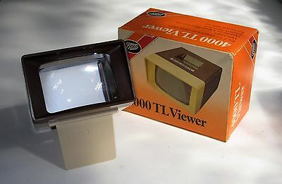 BOOTS 4000 TL Colour 35mm Slide Viewer, boxed.