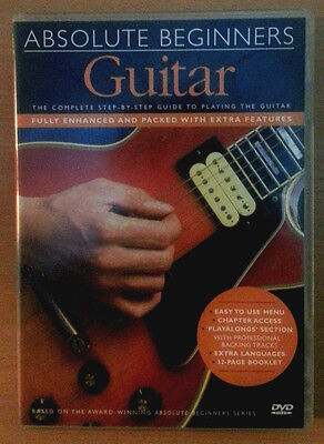 Aprende a tocar la Guitarra Principiantes - ABSOLUTE BEGINNERS: PLAY GUITAR DVD