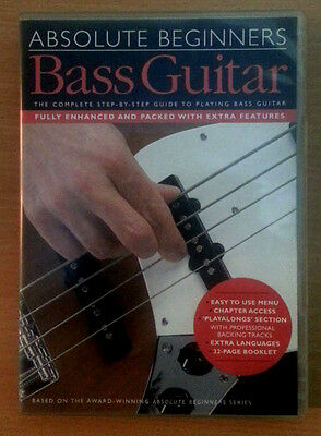 Aprende a tocar el Bajo Principiantes - ABSOLUTE BEGINNERS: PLAY BASS GUITAR DVD