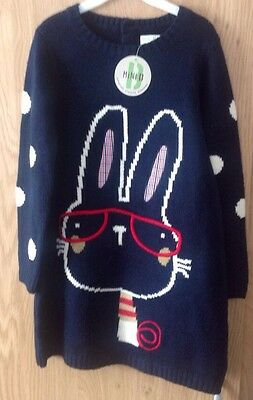 Girls Jumper Dress Age 4/5 Years New With Tags From BHS