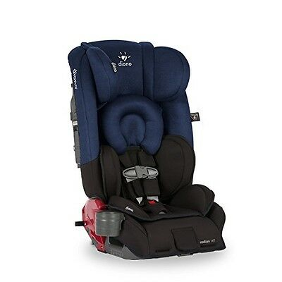 Diono Radian RXT All-In-One Convertible Car Seat, Black Cobalt