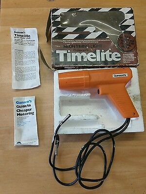 Gunsons Timelite Neon Timing Light Strobe Ideal For Classic Cars