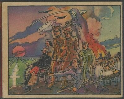 1938 Gum R69 Horrors of War #240 The Frightful Cost of War