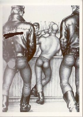 Tom of Finland postcard 1965 image