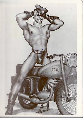 Tom of Finland postcard 1960 image