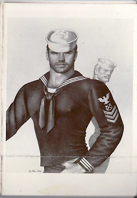 Tom of Finland post card 1985 image sailor