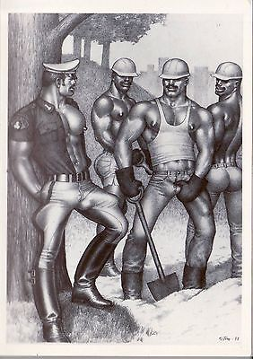 Tom of Finland post card 1988 image