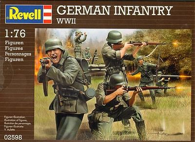 1/76 Revell GERMAN INFANTRY WWII