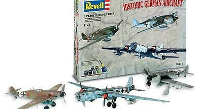 1/72 Revell SET He-177 Bf-109 Fw-190. 3Kits