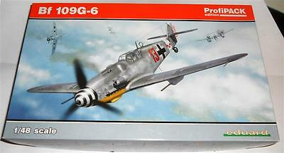 1/48- Eduard profi pack  Messerschmitt Bf 109G-6 German Fighter WWII