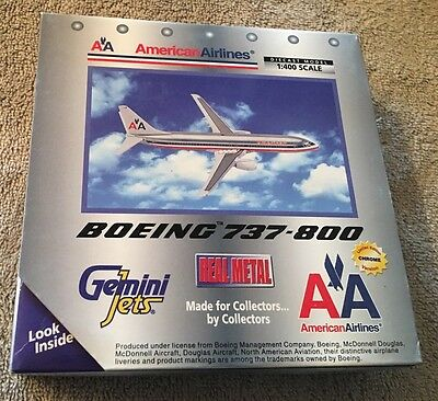 Gemini Jets American Airlines 737-800 Boeing 737 1/400 Scale