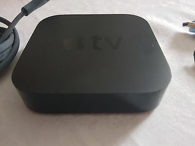 Apple TV 3rd Generation (with remote and HDMI cable)