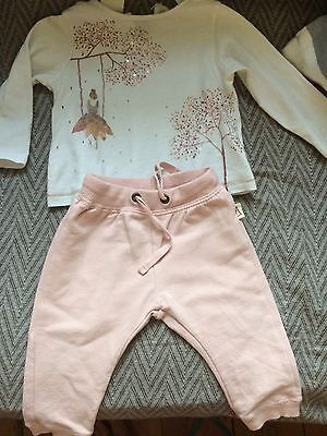 Baby Girl Outfit 3-6 Months Zara