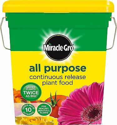 Miracle-Gro All Purpose Continuous Release Plant Food Tub 2 kg