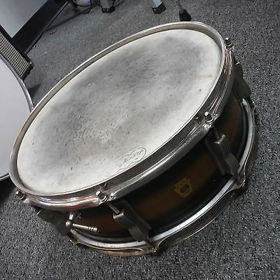 Ludwig 14x5 Jazz Festival Snare Drum Black Gold Duco Finish