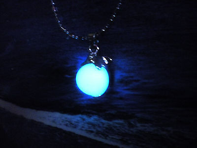 Dolphin Necklace - Glow in the Dark Pendant - Magic Dolphin - Fantasy Jewelry