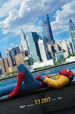 SPIDER-MAN HOMECOMING MOVIE POSTER 2 Sided ORIGINAL Advance 27x40 TOM HOLLAND