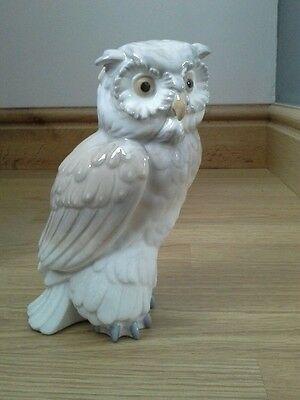 Lladro/nao Large Owl  1St  Perfect Condition