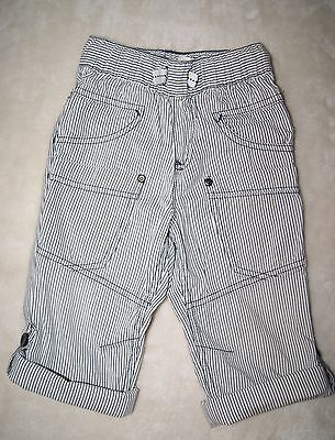 Next Boys Striped Pattern Trousers Size 18-24 Months Immaculate