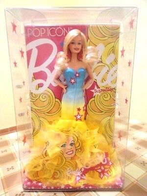 BARBIE POP ICON SUPERSTAR NRFB - model doll collection collezione Mattel