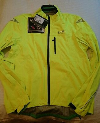 Gore Bike Wear ELEMENT GORE-TEX Active Jacket - Neo Yellow - Large