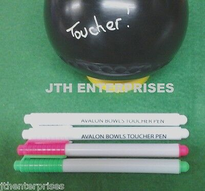Lawn Bowls Toucher Pens Liquid Chalk Variety Packs Various Size Packs Toucha Pen