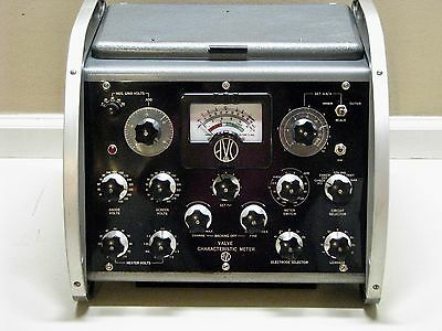 AVO Mark III Mutual Conductance Valve Tube Tester - Calibrated