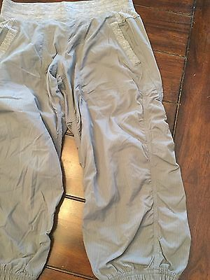 Ivivva By Lululemon Grey Live To Move Studio Crops Youth Sz 12