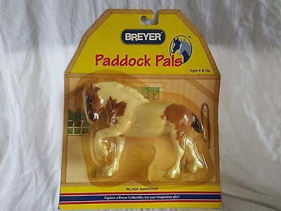 Breyer Paddock Pals #1628 Spotted Drafter Clydesdale in Pkg from 2003 NR