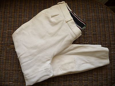 Mens JUMPERS HORSELINE breeches - white - size 38