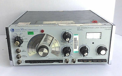 Older Data Royal Corporation Waveform/Phase Lock Generator Model F240A