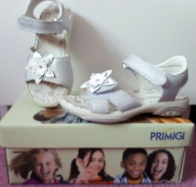Girls Primigi Daphne Sandals Size 27 UK 8